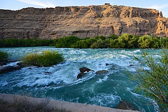 Sarasvati River - The Helmand River, known in ancient Iranian Avestan as Haraxvatī and Harahvaiti, is identified by some as the ancient Sarasvati river.