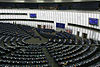 Hemicycle of Louise Weiss building of the European Parliament, Strasbourg.jpg