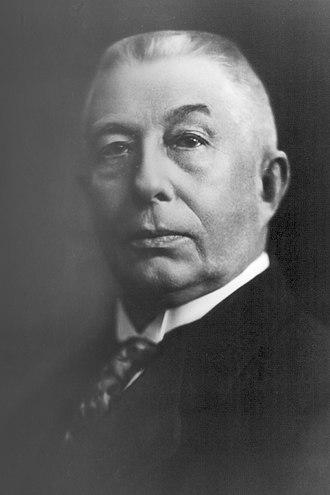 Hendrikus Colijn - Hendrikus Colijn in 1925