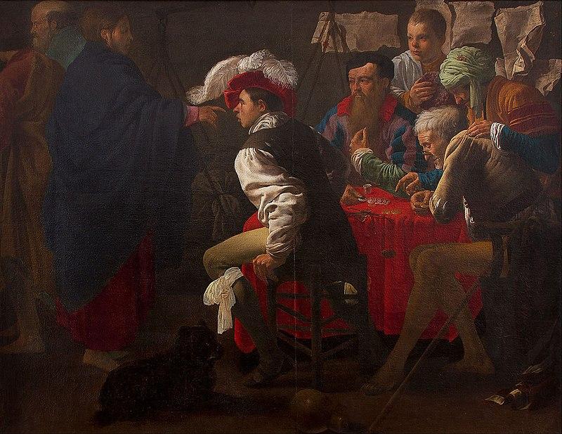 Hendrik ter Brugghen - De Roeping van Sint Mattheus.jpg