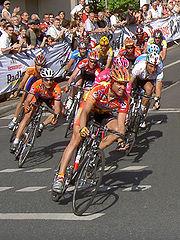 Carrera de ciclismo
