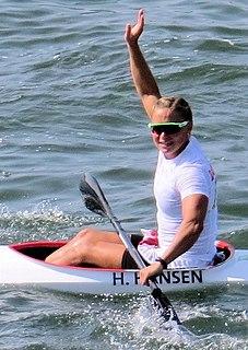 Henriette Engel Hansen Danish canoeist