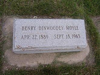 Henry D. Moyle - Henry D. Moyle's headstone