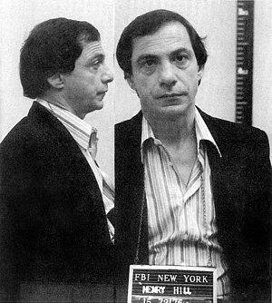 Henry Hill - FBI mugshot taken in 1985