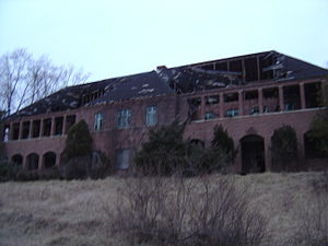 Henryton State Hospital - Henryton has suffered from extensive damage over the years