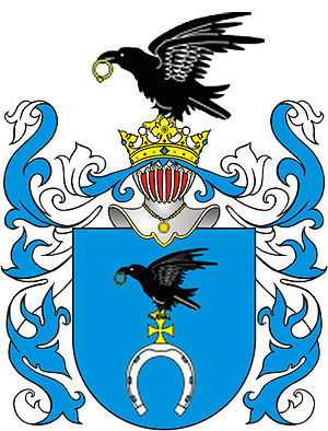 Augustyn Kordecki - Slepowron coat of arms