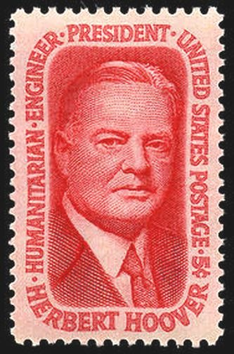 Herbert Hoover 1965 Issue-5c