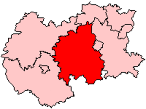 Malvern Hills District - Malvern Hills in Hereford and Worcester, 1974–1998