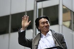 Hideki Matsui - Hideki Matsui during the 2009 World Series parade