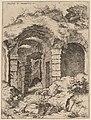 Hieronymus Cock, Sixth View of the Colosseum, probably 1550, NGA 91335.jpg
