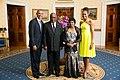 Hifikepunye Pohamba with Obamas 2014.jpg