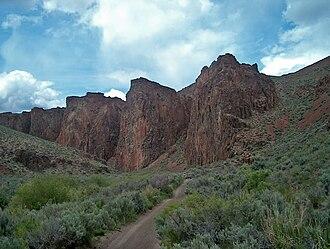 High Rock Canyon Hills - High rock canyon