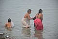 Hindu Devotees Taking Holy Dip In Ganga - Makar Sankranti Observance - Kolkata 2018-01-14 6590.JPG