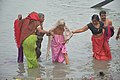 Hindu Devotees Taking Holy Dip In Ganga - Makar Sankranti Observance - Kolkata 2018-01-14 6605.JPG