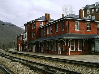 Hinton station (West Virginia) railway station in West Virginia