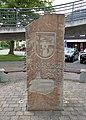 Hinweis- und Entfernungstein, Partnerstadt Jemielnica in Wickede (Ruhr).jpg
