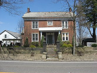 National Register of Historic Places listings in Columbiana County, Ohio - Image: Hiram Bell Farmstead front