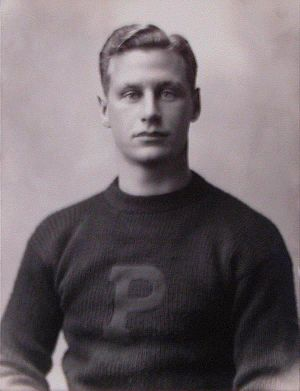 English: Hobey Baker, while at Princeton Unive...