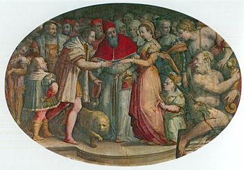 The wedding of Heinrich and Katharina