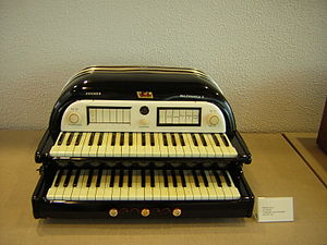 Harald Bode - Hohner Multimonica, first released in 1940, designed by Harald Bode