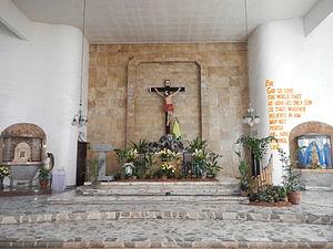 Alcala, Pangasinan - Image: Holy Cross Parishjf 098