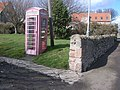 Holy Island telephone kiosk - geograph.org.uk - 741685.jpg