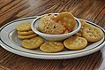 Homemade pimento cheese spread with crackers.jpg