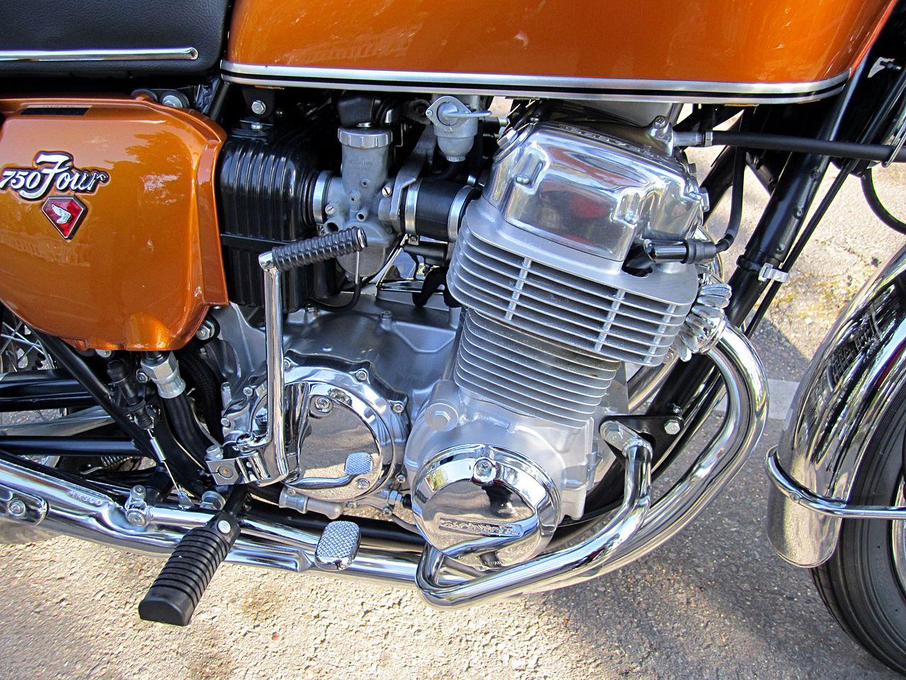 File Honda Cb750 Four K1 1971 Engine Jpg