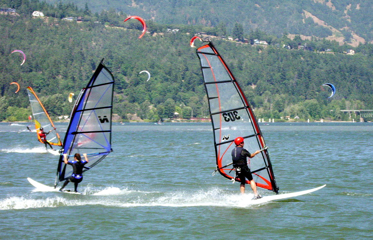 Windsurfing - Simple English Wikipedia, the free encyclopedia