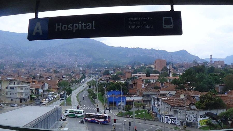 Hospital station (Medellín)