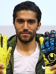 Hossein Hosseini in Uhlsport headquarters.jpg