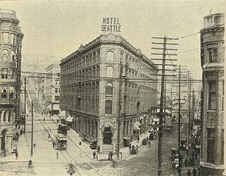 Hotel Seattle - Hotel Seattle, 1900