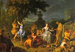 Houasse, Michel-Ange - Bacchanal - 1719.jpg