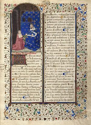Honoré Bonet - 15th-century manuscript of L'arbre des batailles by Honoré Bonet