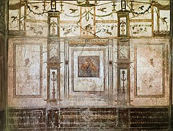 House of the Prince of Naples in Pompeii Plate 142 Triclinium North Wall MH.jpg