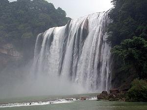 Huangguoshu Waterfall - Image: Huangguoshu Fall Classic View