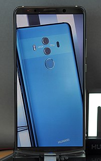 Android smartphone produced by Huawei