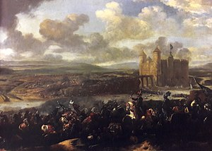 1673 in art - van Huchtenburg – Battle of Chocim