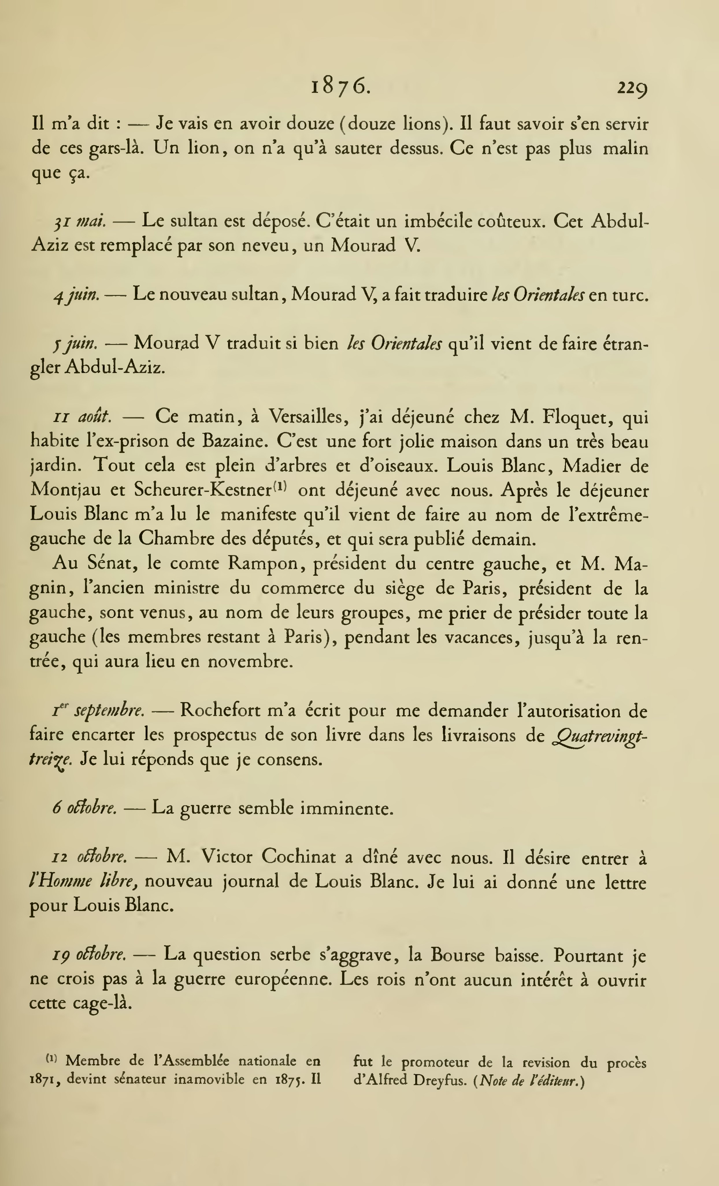 Page Hugo œuvres Complètes Impr Nat Choses Vues Tome
