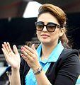 Huma Qureshi at Mumbai Heroes' CCL match.jpg
