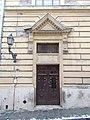 Hunfalvy Secondary School. Szalag Street's door. - Budapest.JPG