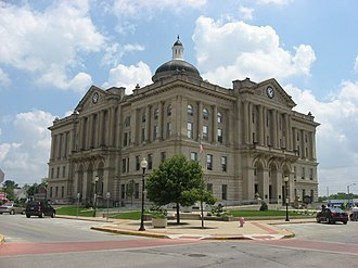 Huntington, Indiana - Huntington County Courthouse