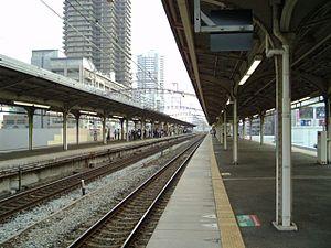 Hyōgo Station - Mainline platforms