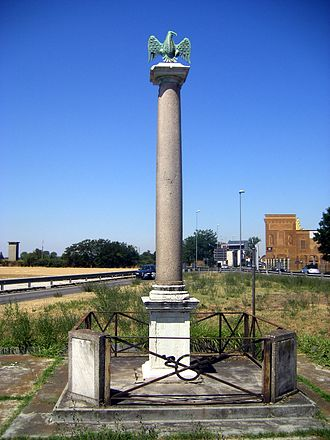 Battle of Marengo - The column at Marengo