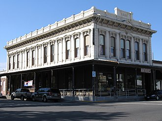Red Bluff, California - Historic downtown building (2009)