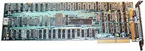 IBM Monochrome Display Adapter - Image: IBM PC Original Monochrome Display and Parallel Printer Adapter