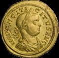 INC-1860-a Ауреус. Тацит. Ок. 275—276 гг. (аверс) (cropped).png