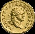 INC-2959-a Ауреус. Веспасиан. Ок. 78—79 гг. (аверс).png