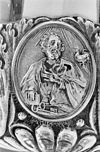 interieur, medaillon op cuppa van ciborie - arnhem - 20305049 - rce