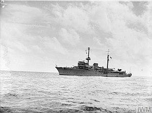 Italian sloop Eritrea - Eritrea, 14 September 1943